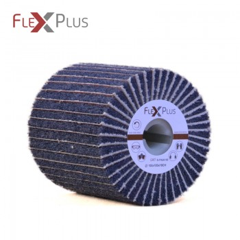 Combi FLAP Brush 100x100x19mm S-FIN+P100