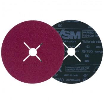 VSM KF760 Fibre Discs Ø180mm P60