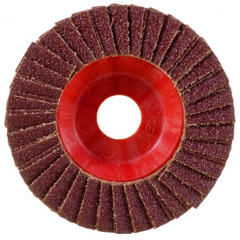 Aluminum Oxide Flap Disc Flat Double Ø125mm P40