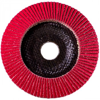 Ceramic Flap Disc Flat Ø115mm P60