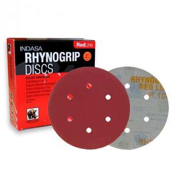 INDASA Rhynogrip Red Line Ø150mm 6H