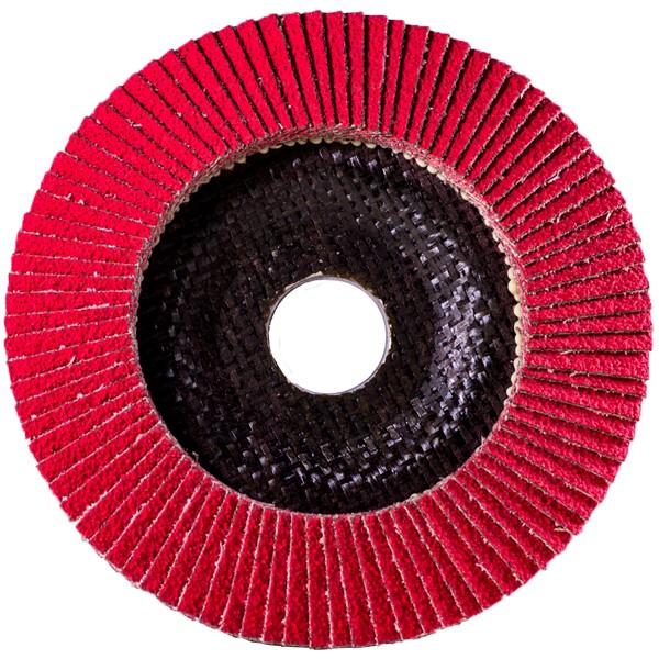 Ceramic Flap Disc Flat Ø125mm