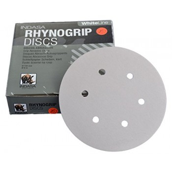 INDASA RHYNOGRIP White LINE Ø150MM 6H